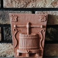 Reliéfy z pálenej tehly