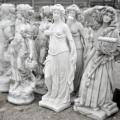 Betónové sochy a sošky