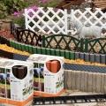Záhradné obrubníky a plôtiky