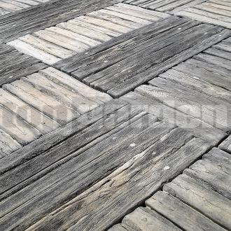Vonkajšia dlažba imitácia dreva