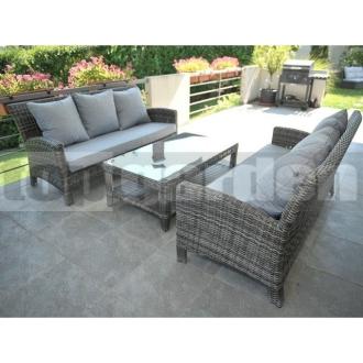 e19b4ca4012c Ratanový nábytok Harmony Grey 6 - topgarden.sk - záhradný ratanový nábytok