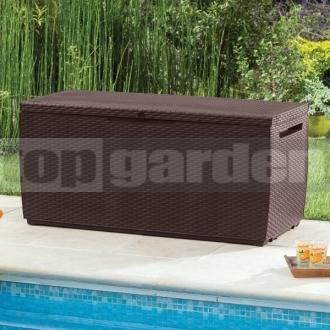 41fb6201084c2 Capri 305L hnedý - záhradný úložný box - topgarden.sk - úložné boxy