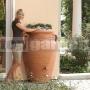 Antická nástenná amfora terracotta