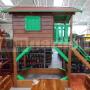 Detský domček s pieskoviskom