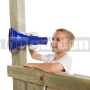 Detský megafón modro-biely