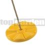 Hojdací disk kvet žltý