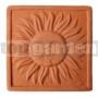 Keramický reliéf 8 Slnko malé
