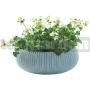 Kvetináč Cozies L pastelová modrá 227704