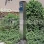 LUXE - záhradná nerezová studnička