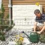 Nádrž imitujúca prírodný kameň pieskovobéžová
