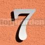 Nerezové číslo domu 7