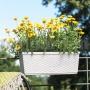 Truhlík 75 cm biely Casa Mesh 515024 Emsa