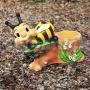 Včielka na liste M161
