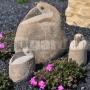 Vták z kameňa 40 cm