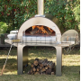 Záhradná pec 4 pizze