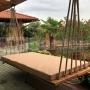 Záhradná závesná posteľ Pohoda XL