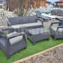 Záhradný nábytok Corfu Triple set BT