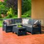 Záhradný rohový set Corfu Relax AG 227816