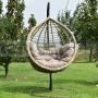 Závesné ratanové kreslo Veget Natur