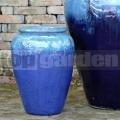 Amfora Athena Marble Green Blue 45cm
