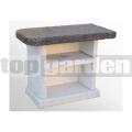 Bočný stôl ku krbu Avanta Exclusiv