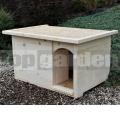 Búda pre psa Doghouse M s rovnou strechou