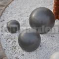 Dekoračná guľa antracit