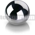 Dekoračná guľa chrómová