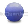 Dekoračná guľa glazovaná modrá