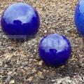 Dekoračná guľa modrá