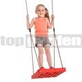 Detská hojdačka Foot swing červená