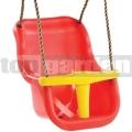 Detská hojdačka Luxe červeno-žltá