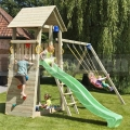 Detské ihrisko Belvedere s hojdačkami.