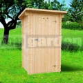 Drevené záhradné WC ECO