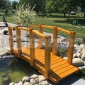 Drevený mostík model 2