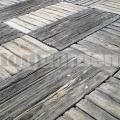 Furmanská dlažba v imitácii dreva