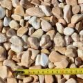 Giallo Siena kamenné okruhliaky 15 - 25 mm