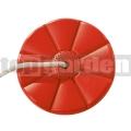 Hojdací disk kvet červený