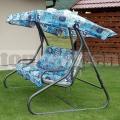 Záhradná hojdačka Miláno Blue