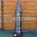 Hydrant antik striebro