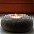 Kamenný svietnik Natur 10 cm