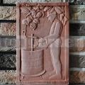 Keramický reliéf 3 - Vinár