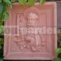 Keramický reliéf 7 - Svätý Peter