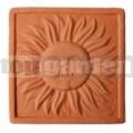 Keramický reliéf 8 - Slnko malé