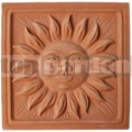 Keramický reliéf 9 - Slnko veľké