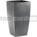 Kvetináč Casa Matt tmavo-šedý 517583