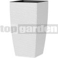 Kvetináč Casa Mesh biely 517575