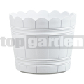 Kvetináč Country 30 cm biely 515263