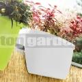 Kvetináč na zábradlie My City Garden White 515388