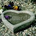 Napájačka pre vtáčiky srdce 86017